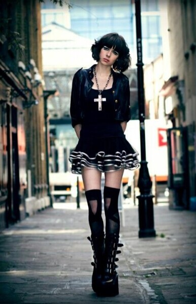 Gothic Fashion Is A Clothing Style Influenced By Goth Subculture This Characterized With Dark And Morbid Of Dress Common